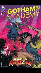 Gotham Academy 11 - Cover
