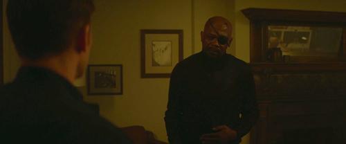 nick in steve's apartment