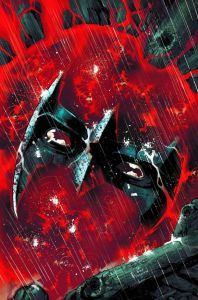 Nightwing 30 Unlettered Cover