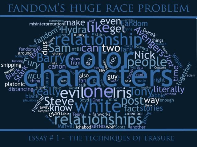 fandom s huge race problem
