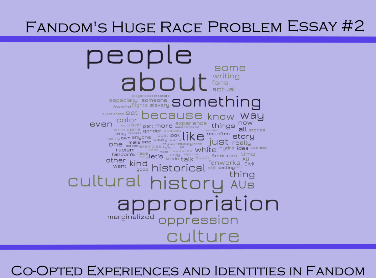 fandom s huge race problem essay co opted experiences and  fandom s huge race problem essay 2 co opted experiences and identities in fandom stitch s media mix