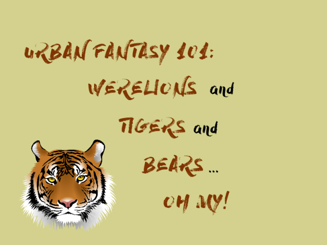werelions and tigers