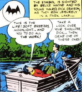 Batman and Robin Boatride