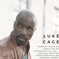 Luke Cage - Looks Like A Cinnamon Roll...