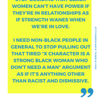 "[Image Post] ""Strong Black Women"""