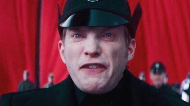 Hux's Fascist Face