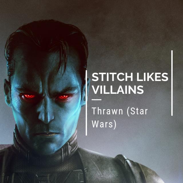Stitch Likes Villains - Thrawn