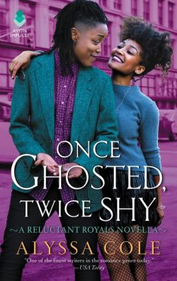 book cover - one ghosted twice shy by alyssa cole